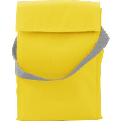 Kühltasche 'Breakfast' aus Polyester gelb - 3609