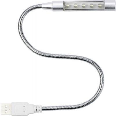 USB-Lampe 'Flexible' Kunststoff/Metall silber - 362032