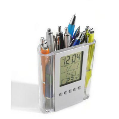 Stifteköcher 'Sirona' aus Kunststoff beige - G3684-999