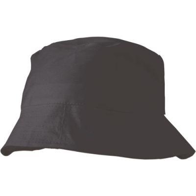 Sonnenhut 'Safari' aus 100% Baumwolle schwarz - 382601