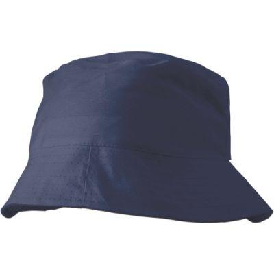Sonnenhut 'Safari' aus 100% Baumwolle blau - 3826