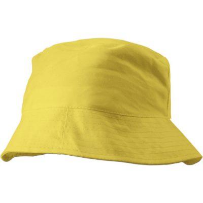 Sonnenhut 'Safari' aus 100% Baumwolle gelb - 382606