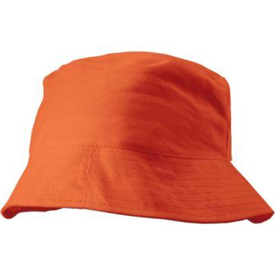 Sonnenhut 'Safari' aus 100% Baumwolle orange - 382607