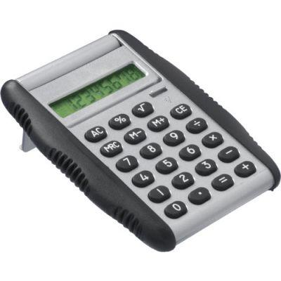 Taschenrechner 'Flap' silber - 448832