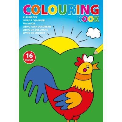 Kinder Malbuch 'Leni' aus Papier bunt - 473109