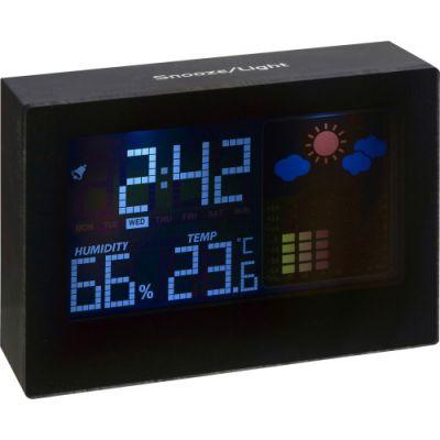 Wetterstation 'Blackline' schwarz - 478701