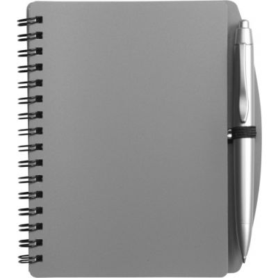 Notizbuch 'Spektrum' grau - 513903
