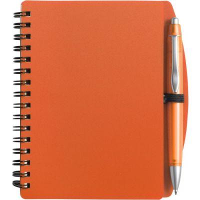 Notizbuch 'Spektrum' orange - 513907