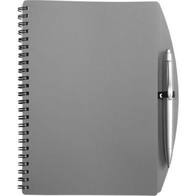 Notizbuch 'Spektrum' grau - 514003