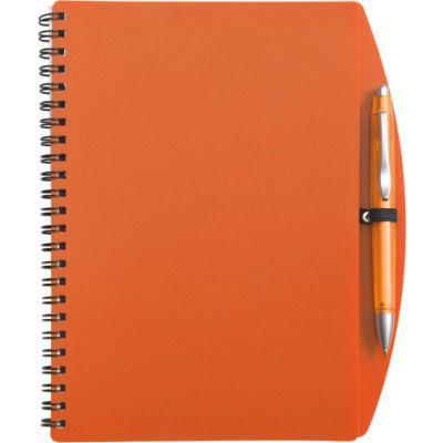 Notizbuch 'Spektrum' orange - 514007