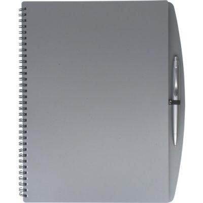 Notizbuch 'Spektrum' grau - 514103