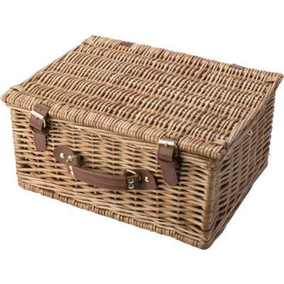 Picknickkorb 'Basic' für 2 Personen braun - 579411