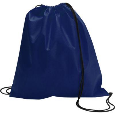 Schuh-/Rucksack (Turnbeutel) 'Modo' aus Non-Woven blau - 6232