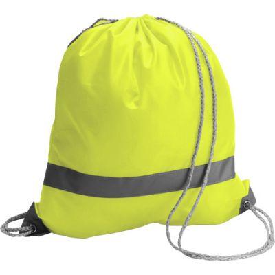 Schuh-/Rucksack 'Emergency' aus Polyester gelb - 6238