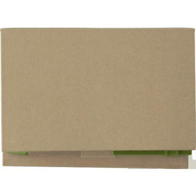 Zettelhalter 'Perth' aus Karton grün - 649829