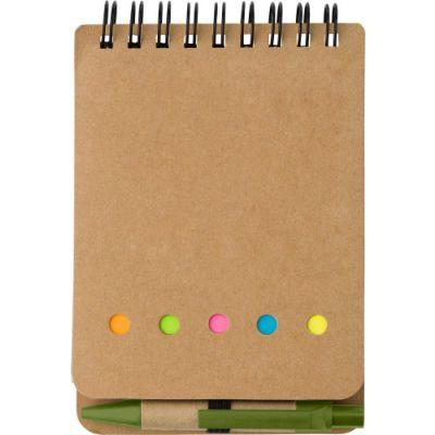 Notizbuch 'Premier' aus Karton grün - 650929