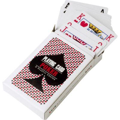 Spielkarten 'Winner' bunt - G660309