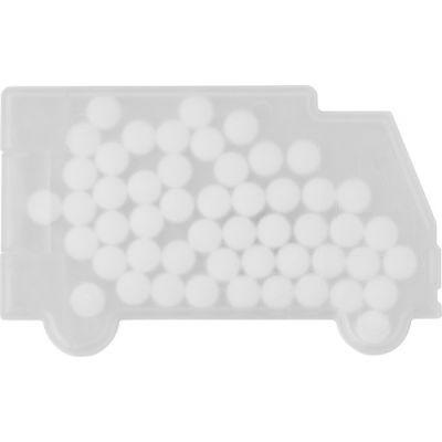Pfefferminzbonbons 'Truck' weiß - 6679