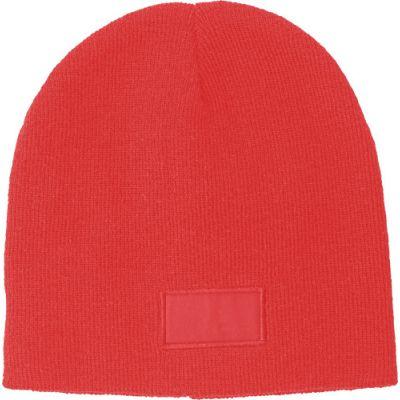 Mütze 'Basel' aus 100% Acryl rot - 673508