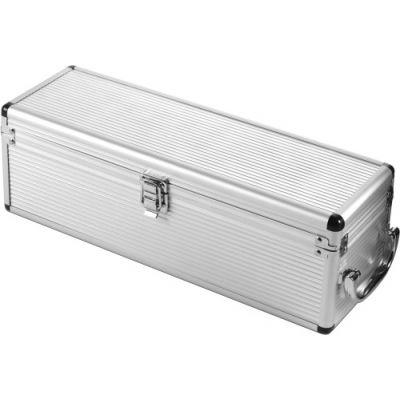 Luxus-Weinset 'Alu-Line' silber - 682932