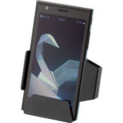 Handyhalter 'Premium' schwarz - 693601