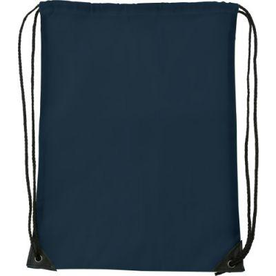 Schuh-/Rucksack (Turnbeutel) 'Basic' aus Polyester blau - 7097