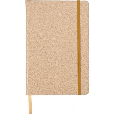 Notizbuch 'Korky' aus PU braun - 725711
