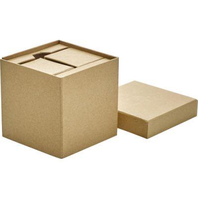 Schreibtischständer 'Volume' aus Karton braun - 729511