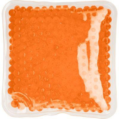 Kühl- & Wärmekissen 'Relax' aus PVC orange - G7413