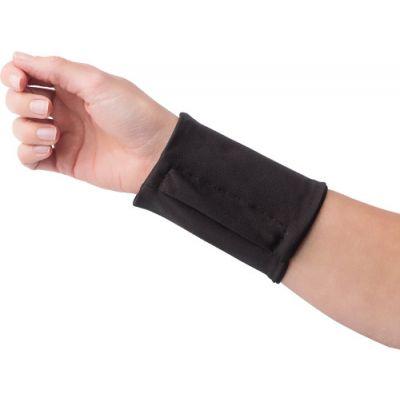 Handgelenkgeldbörse 'Jogger' aus Polyester schwarz - G7608