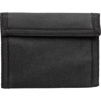 Geldbörse 'Trend' aus Polyester schwarz - G7664