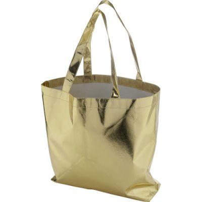 Strandtasche 'Glamour' aus Non-Woven gold - G7724