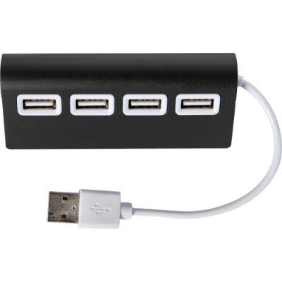 USB-Hub 'Square' schwarz - 773701