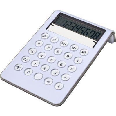 Taschenrechner 'Berny' weiß - G780602