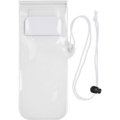 Handyschutzhülle 'Transparent', wasserresistent weiß - G780702