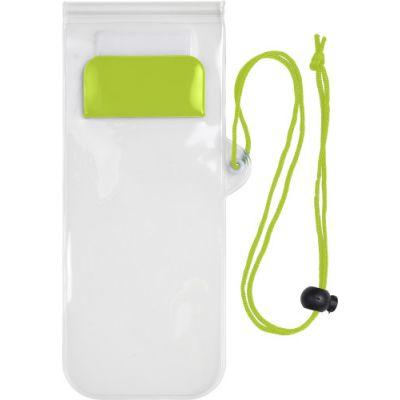 Handyschutzhülle 'Transparent', wasserresistent grün - G780719