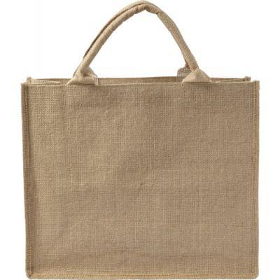 Einkaufstasche 'Natura' aus Jute braun - G782211
