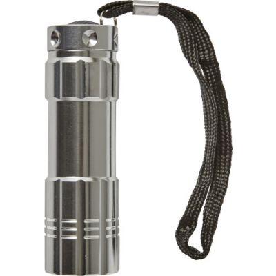 Taschenlampe 'Sky' silber - G788032