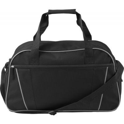 Sporttasche 'Classic' aus Polyester schwarz - G7948