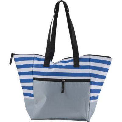 Strandtasche 'Maritim' aus Polyester blau - G7953