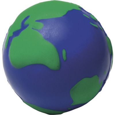 Anti-Stress-Globus 'World' blau - 803105
