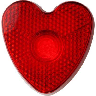 Blinkleuchte 'Heart' rot - 810508