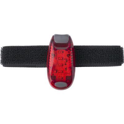 Sicherheitslicht 'Guide' mit Klettverschluss rot - G821908