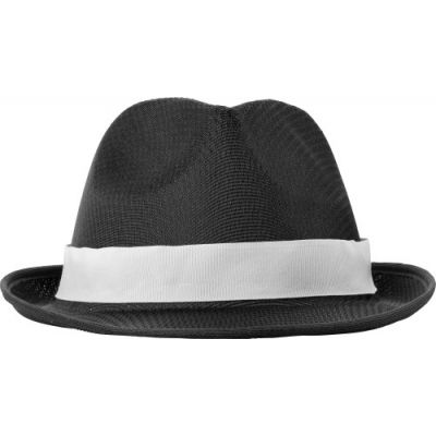Hut 'Havanna' aus Polyester schwarz - G8246