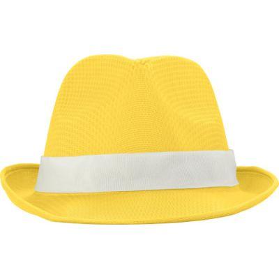 Hut 'Havanna' aus Polyester gelb - G824606