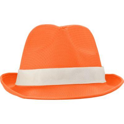 Hut 'Havanna' aus Polyester orange - G824607