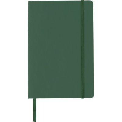 Notizbuch 'Storyteller' aus PU grün - G8276-004