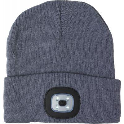 Mütze 'Shiny' aus Acryl schwarz - G8282