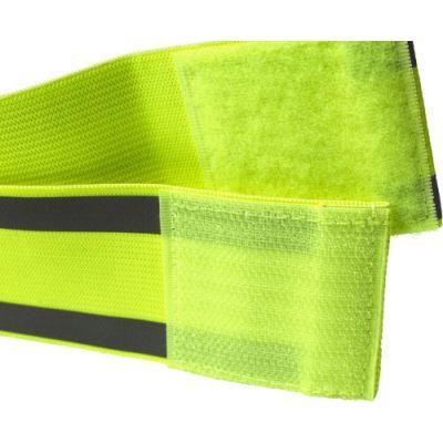 Sicherheitsarmband 'Traffic' mit Reflektorstreifen gelb - G828806