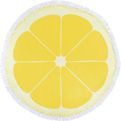 Strandhandtuch 'Barca' aus Mikrofaser (160 g/m²) gelb - G8289
